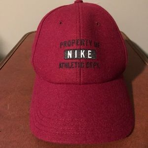 Burgundy Property of Nike Baseball Cap